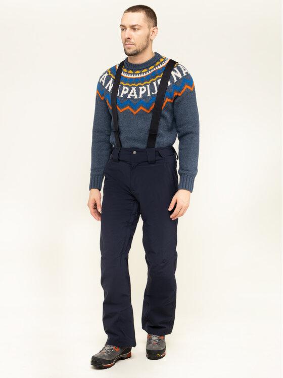 Salomon Salomon Lyžařské kalhoty Stormseason Pant LC1198100 Tmavomodrá Regular Fit