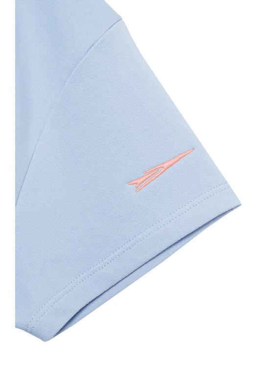 Sprandi Sprandi Bluza SS21-TSG002 Niebieski Relaxed Fit