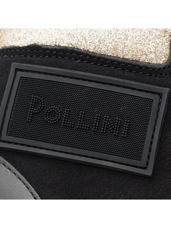 Pollini Pollini Сникърси SA15153G08T61000 Черен