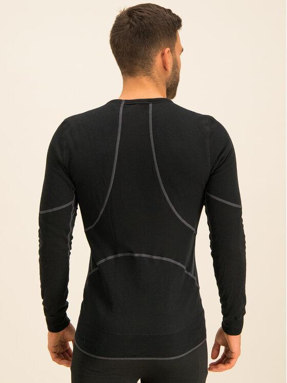 Odlo Odlo Тениска от техническо трико Active X-Warm Bl 155162 Черен Fitted Fit