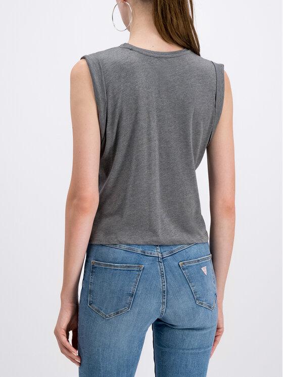 Guess Guess Marškinėliai W93I77 K8C40 Pilka Regular Fit