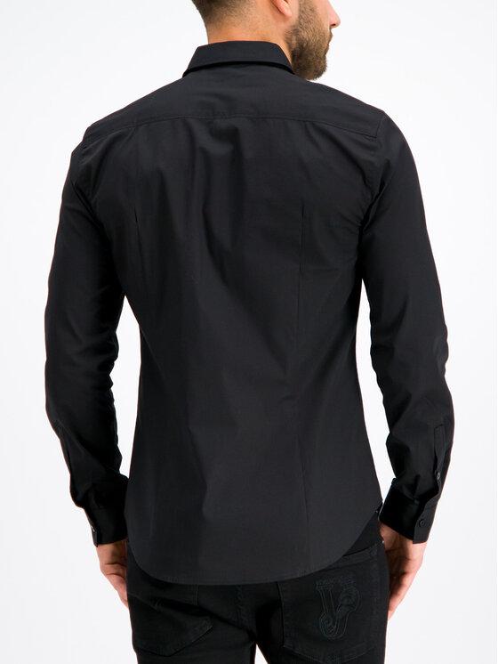 Versace Jeans Versace Jeans Koszula B1GTB6S0 Czarny Slim Fit