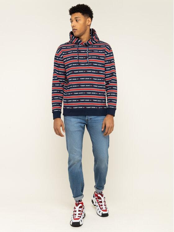 Tommy Jeans Tommy Jeans Mikina Tjm Branded Stripe DM0DM07399 Barevná Regular Fit