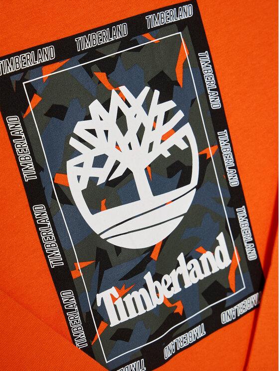 Timberland Timberland Bluzka T25R13 D Pomarańczowy Regular Fit