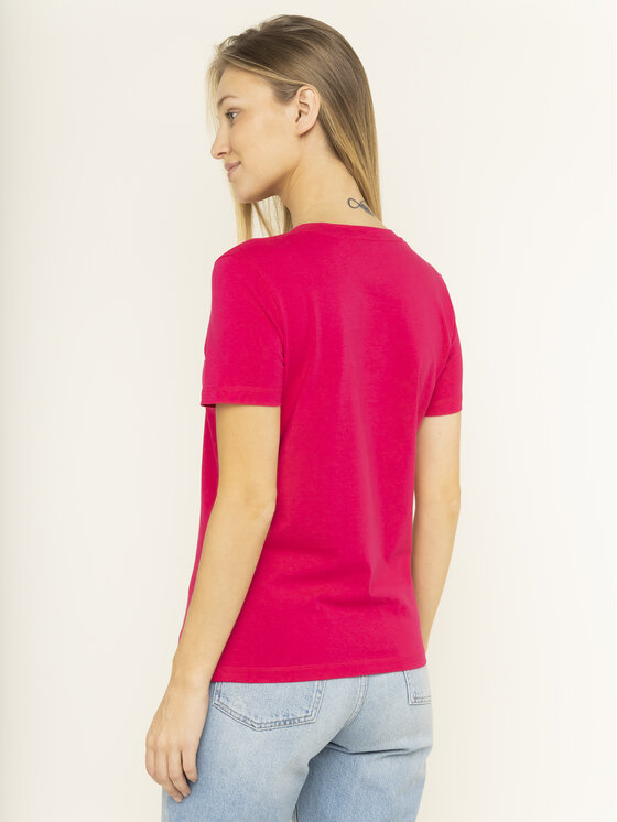 Tommy Hilfiger Tommy Hilfiger T-shirt Essential WW0WW26868 Rosa Regular Fit