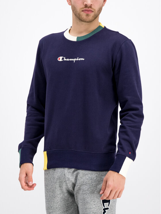 Champion Champion Džemperis 212788 Tamsiai mėlyna Comfort Fit