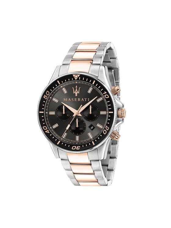 Maserati Laikrodis Sfida R8873640002 Sidabrinė