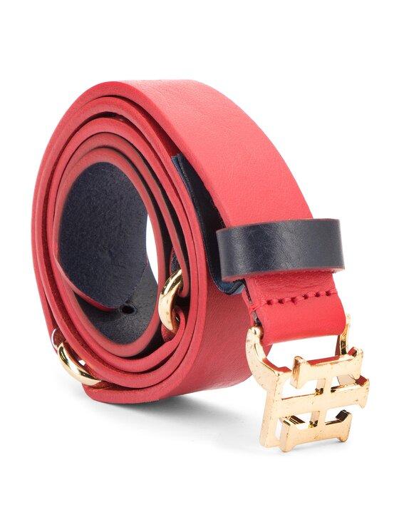 Tommy Hilfiger Tommy Hilfiger Moteriškas Diržas Th Seasonal Belt 3.0 AW0AW05882 Raudona