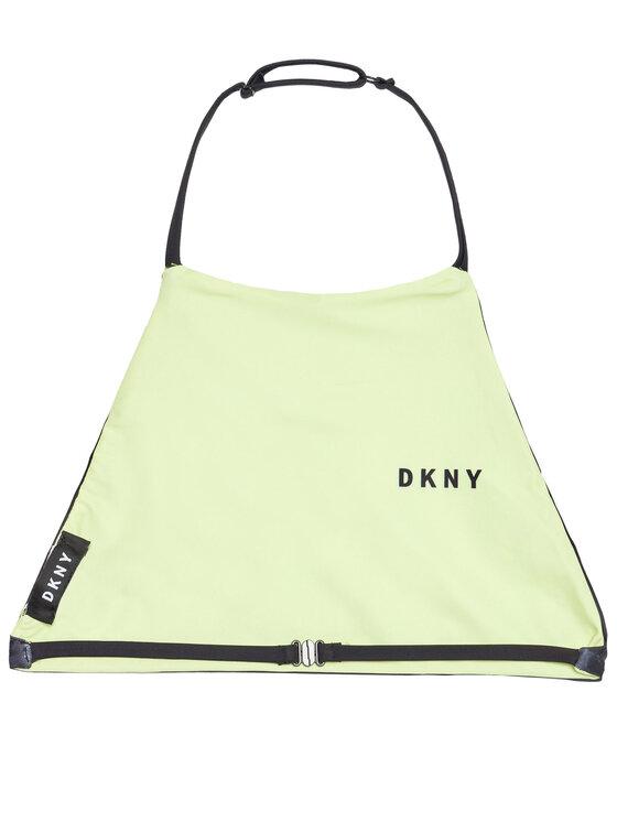 DKNY DKNY Strój kąpielowy D37105 D Żółty