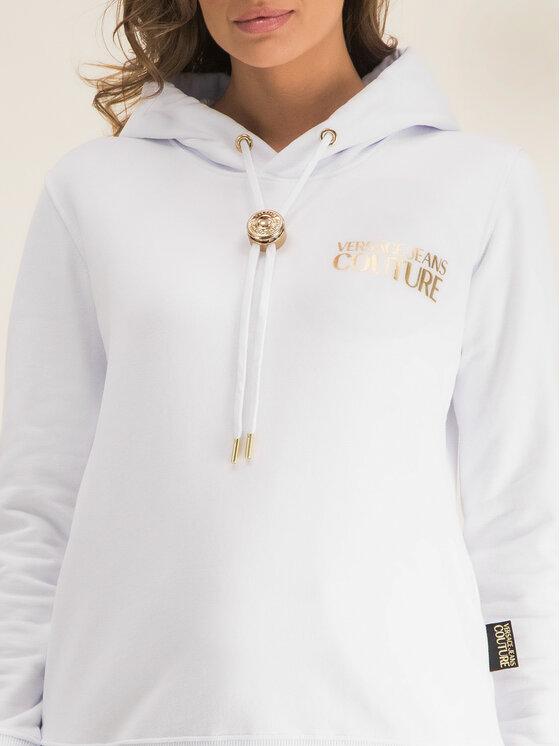 Versace Jeans Couture Versace Jeans Couture Sweatshirt B6HVA778 Weiß Regular Fit