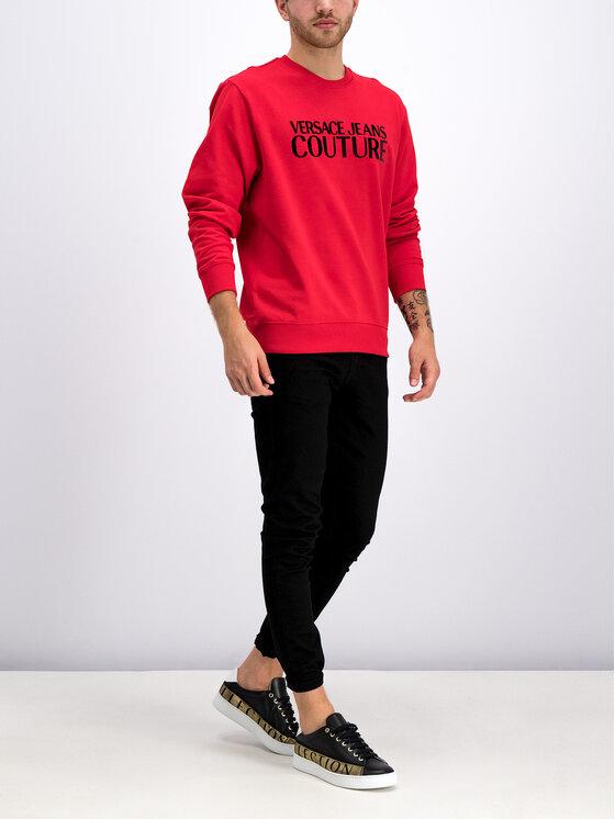 Versace Jeans Couture Versace Jeans Couture Džemperis B7GUA7FY Raudona Regular Fit