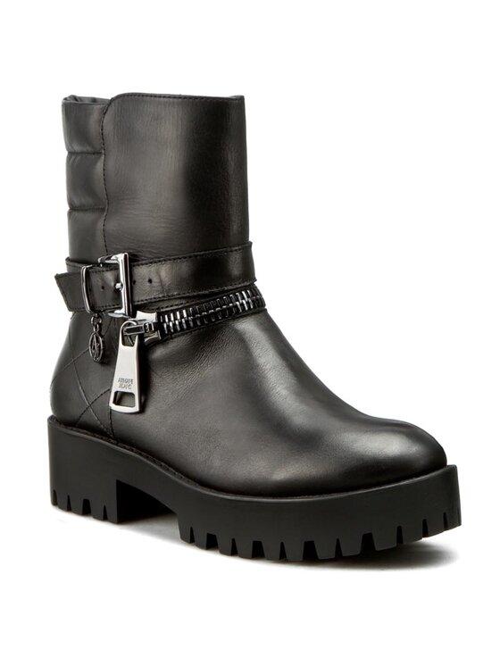 Armani Jeans Armani Jeans Bottines 925032 6A415 00020 Noir