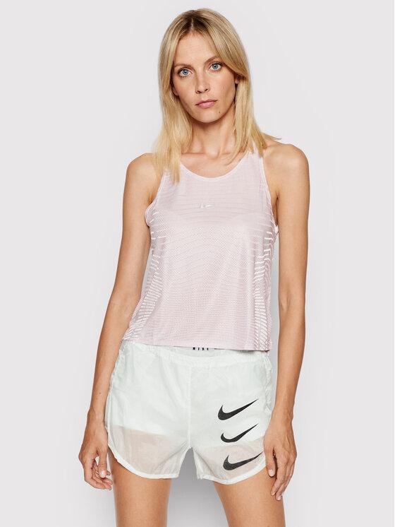 Nike Nike Bluzka Pro DA0528 Różowy Regular Fit