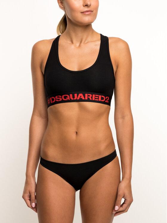 Dsquared2 Underwear Braziliškos kelnaitės D8L612360 Juoda