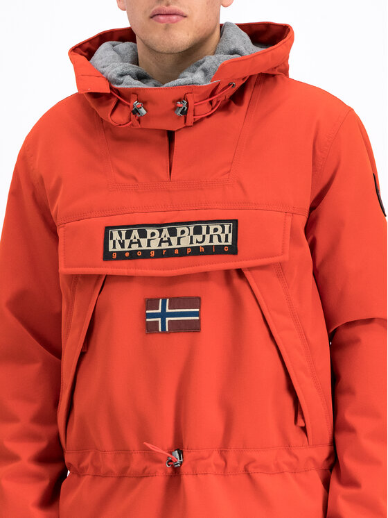 Napapijri Napapijri Kurtka zimowa Skidoo N0YI4R Pomarańczowy Regular Fit