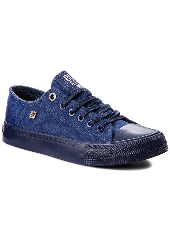 BIG STAR BIG STAR Sneakers aus Stoff AA274008 Dunkelblau