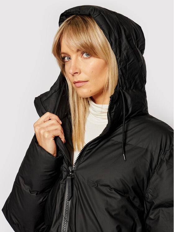 Rains Rains Kurtka puchowa Unisex 1507 Czarny Regular Fit