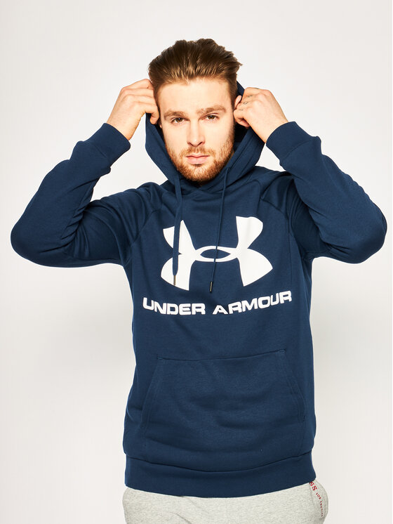 Under Armour Under Armour Bluza UA Rival 1345628 Granatowy Regular Fit