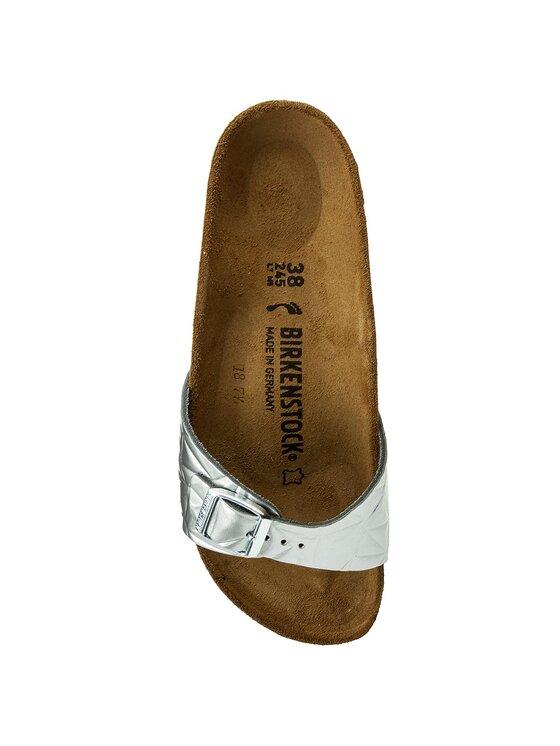 Birkenstock Birkenstock Παντόφλες Madrid Bs 1008454 Ασημί