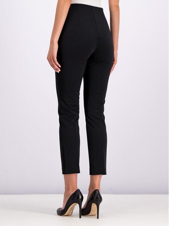 Cavalli Class Cavalli Class Pantalon en tissu A1ITB131 Noir Regular Fit