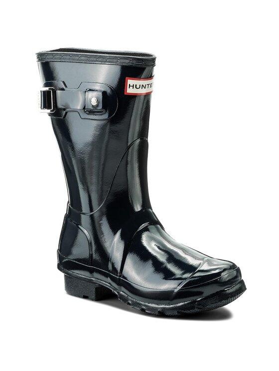 Hunter Guminiai batai Org Short Gloss WFS1000RGL Tamsiai mėlyna