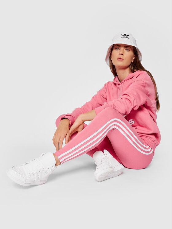 adidas adidas Leggings adicolor Classics 3-Stripes H09422 Ružičasta Slim Fit