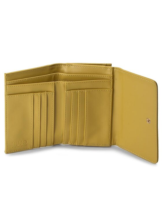 Liu Jo Liu Jo Голям дамски портфейл Portafoglio Medio C N17127 E0087 Жълт