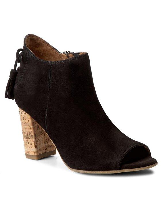 Tamaris Tamaris Členková obuv 1-28320-28 Čierna