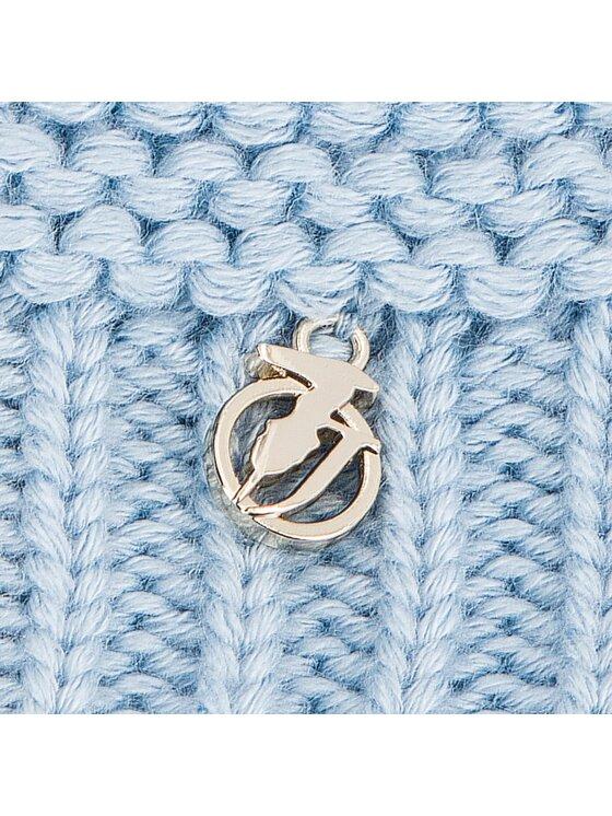 Trussardi Trussardi Σκούφος Hat Knitted Pon Pon 59Z001169 Μπλε