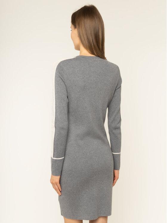 Calvin Klein Calvin Klein Φόρεμα υφασμάτινο Knitted Sweater K20K201726 Γκρι Regular Fit