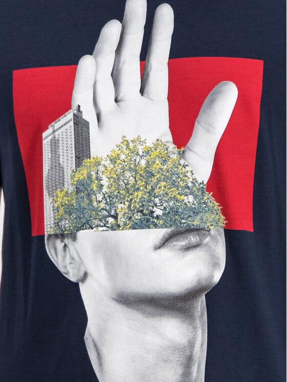 Hugo Hugo T-Shirt 50414186 Granatowy Regular Fit