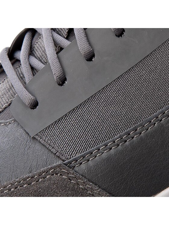 Geox Geox Sneakersy U Traccia A U743RA 08522 C9002 Sivá