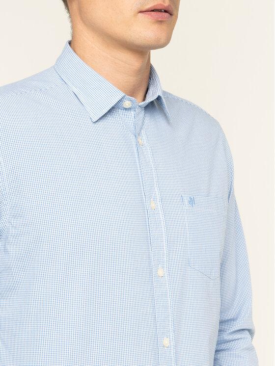 Marc O'Polo Marc O'Polo Camicia 020 7451 42188 Blu Regular Fit