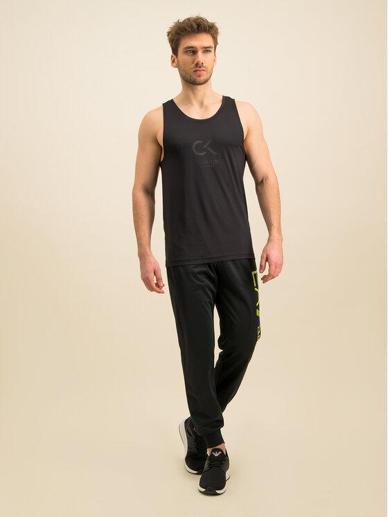 Calvin Klein Performance Calvin Klein Performance Топ 00GMS9K184 Черен Regular Fit