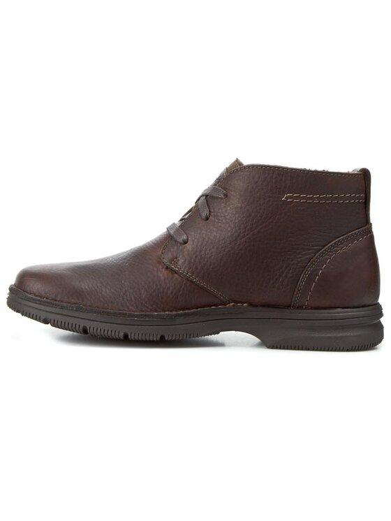 Clarks Clarks Обувки Senner Rise 203569577 Кафяв