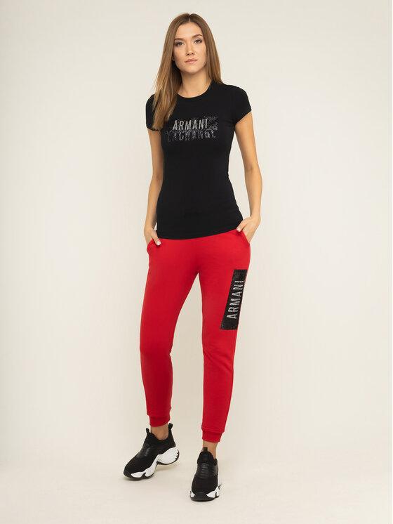 Armani Exchange Armani Exchange Pantalon jogging 6GYP76 YJE5Z 1469 Rouge Regular Fit