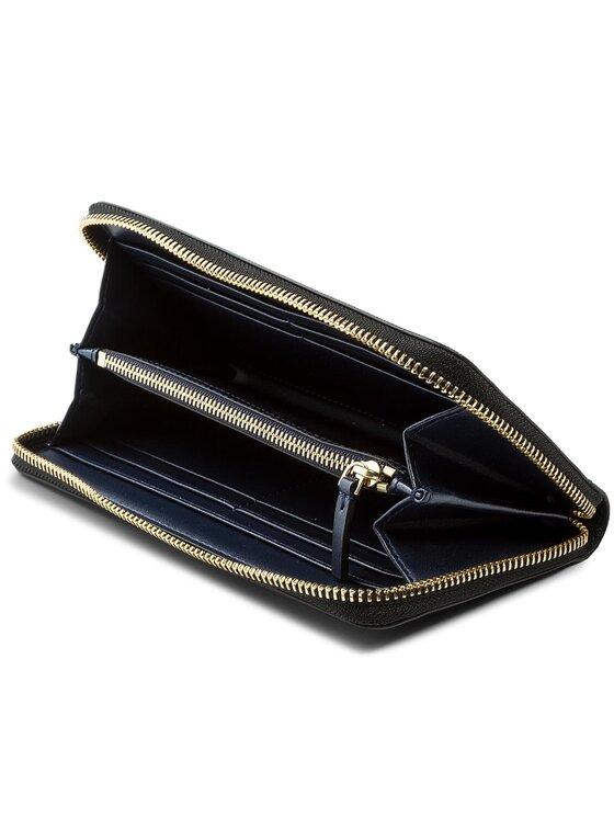Tory Burch Tory Burch Duży Portfel Damski Robinson Zip Continental Wallet 45254 Czarny