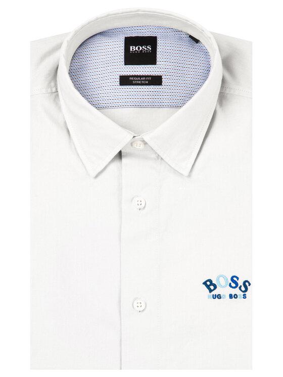 Boss Boss Риза Bruno_R 50425622 Сив Regular Fit