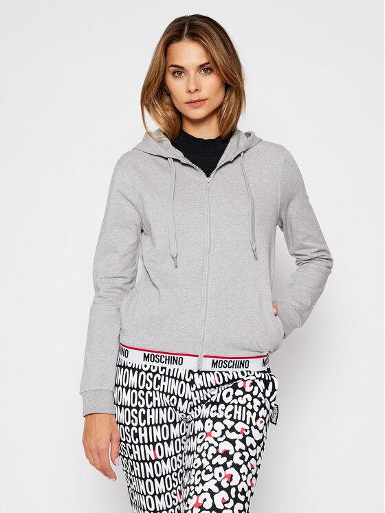 MOSCHINO Underwear & Swim Džemperis 1702 9006 Pilka Regular Fit