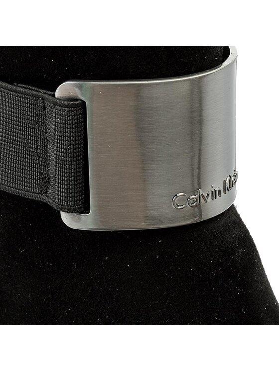 Calvin Klein Calvin Klein Overknees Gennie Kid E3136 Schwarz