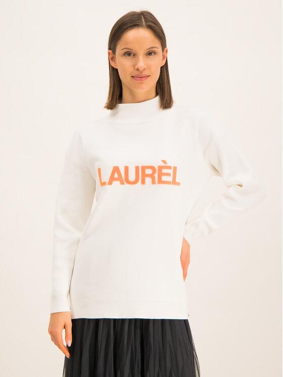 Laurèl Džemperis 22044 Balta Regular Fit