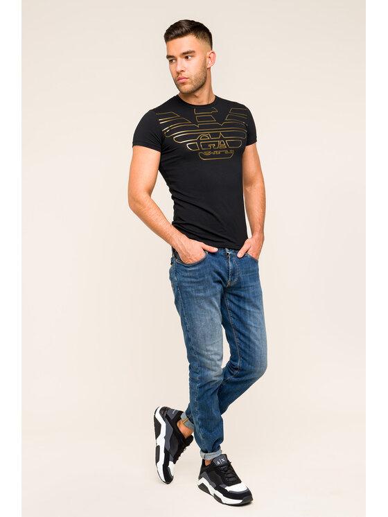 Emporio Armani Underwear Emporio Armani Underwear Marškinėliai 111035 9A595 00020 Juoda Slim Fit