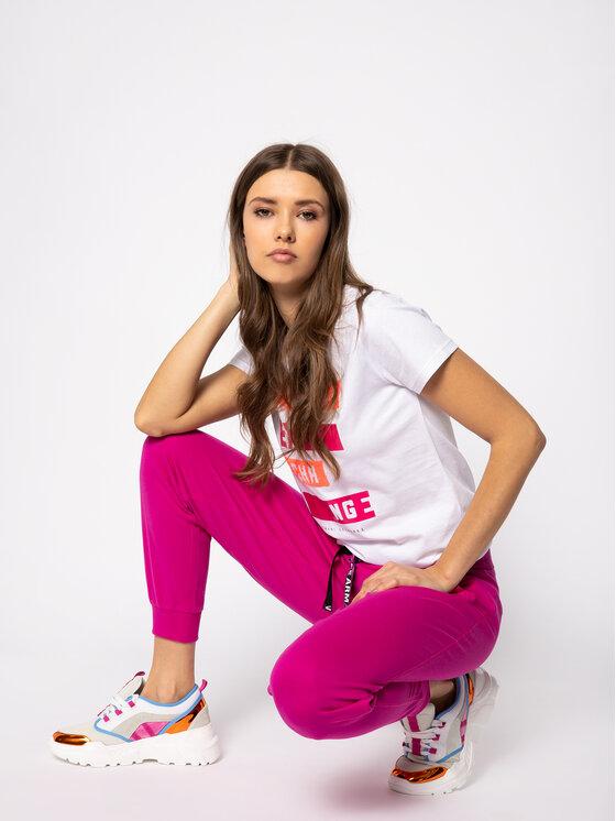 Armani Exchange Armani Exchange Teplákové kalhoty 3HYP88 YJ76Z 1474 Růžová Regular Fit