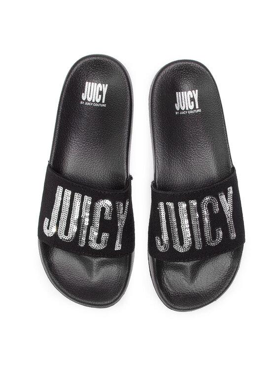 Juicy by Juicy Couture Juicy by Juicy Couture Klapki Maisy JJ161 Czarny