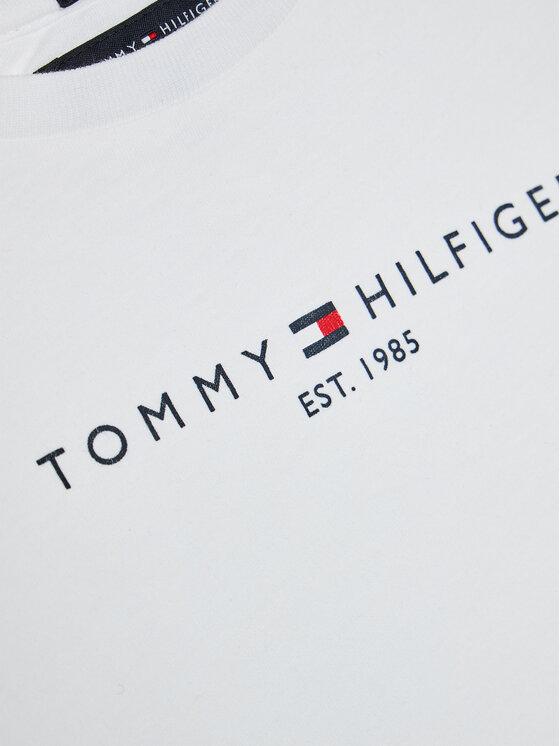 Tommy Hilfiger Tommy Hilfiger Bluzka Essential KB0KB06105 M Biały Regular Fit