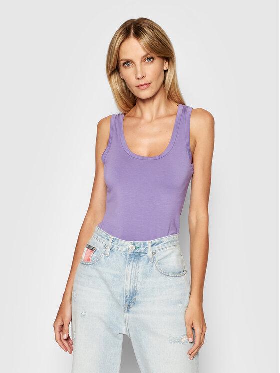 Kontatto Marškinėliai M1607 Violetinė Regular Fit