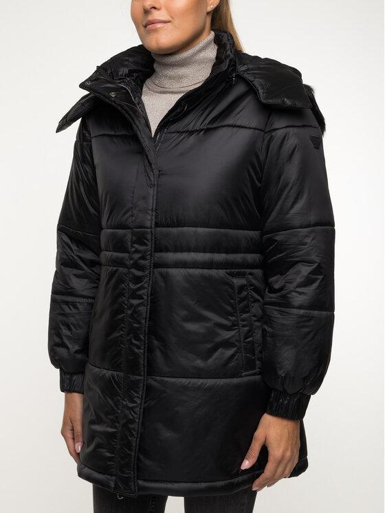 Emporio Armani Emporio Armani Zimný kabát 6G2L77 2NUNZ 0999 Čierna Regular Fit