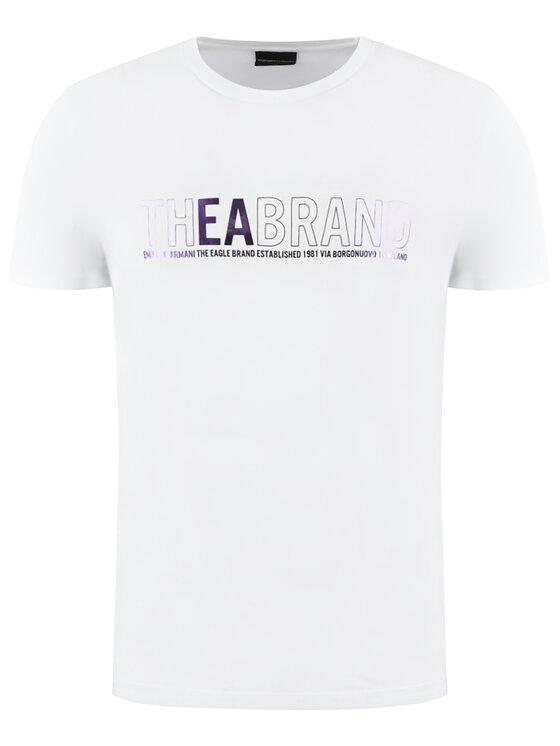 Emporio Armani Emporio Armani T-Shirt 3H1T91 1JNQZ 0100 Biały Regular Fit
