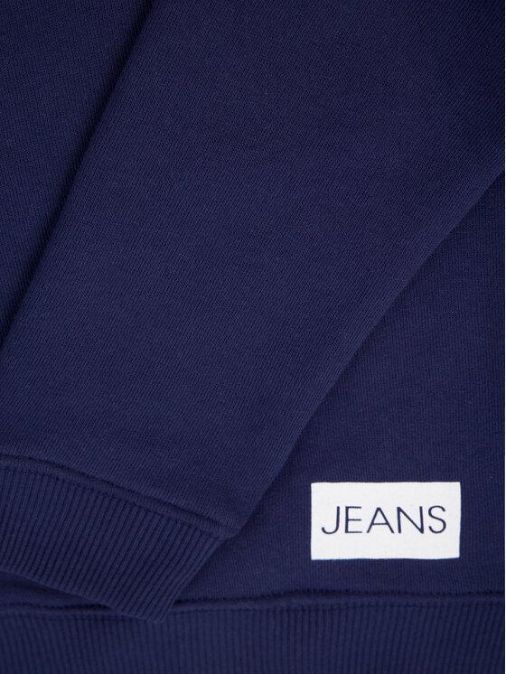 Calvin Klein Jeans Calvin Klein Jeans Mikina Institutional IU0IU00040 Tmavomodrá Regular Fit