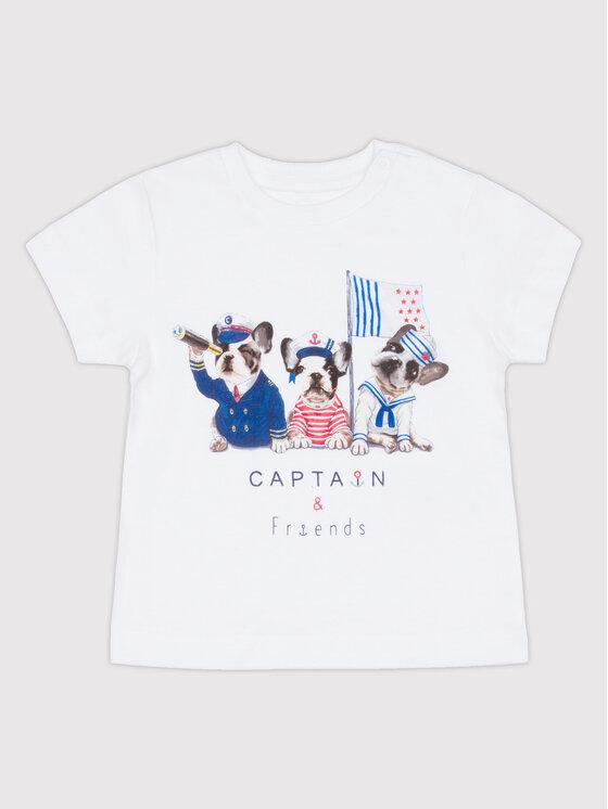 Mayoral Mayoral T-Shirt 1017 Bílá Regular Fit